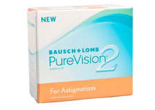 BAUSCH & LOMB Purevision 2 HD Toric 6 pack