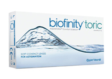 COOPER VISION Biofinity Toric 3pack
